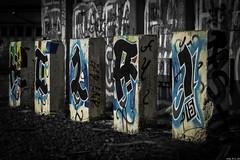 Dosenmalerei (Alexander Rudolphi) Tags: berlin graffiti sw material motive orte vignette industrie kamera beton pankow objektiv 24105mm eos6d bahnbetriebswerk bildstil
