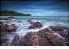 After The Rain (Ian Santosa) Tags: seascape beach rock landscape thailand nikon slow shutter
