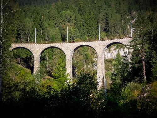 Viadukt der RhB