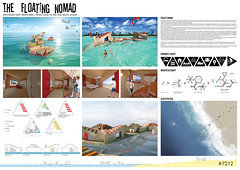 THE FLOATING NOMAD_3ANDAR_[RODRIGUES+CARVALHO+PITA]_PORTUGAL (rethinkingcompetitions) Tags: sea architecture project arquitectura surfer competition exhibition housing concurso temporary winners tarifa proyectos exposicin surferos temporales proposals ganadores propuestas rethinking alojamientos rehtinking