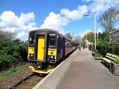 153318 & 153369 Penmere (Marky7890) Tags: station train cornwall railway falmouth dmu class153 fgw penmere 153318 153369 2t75