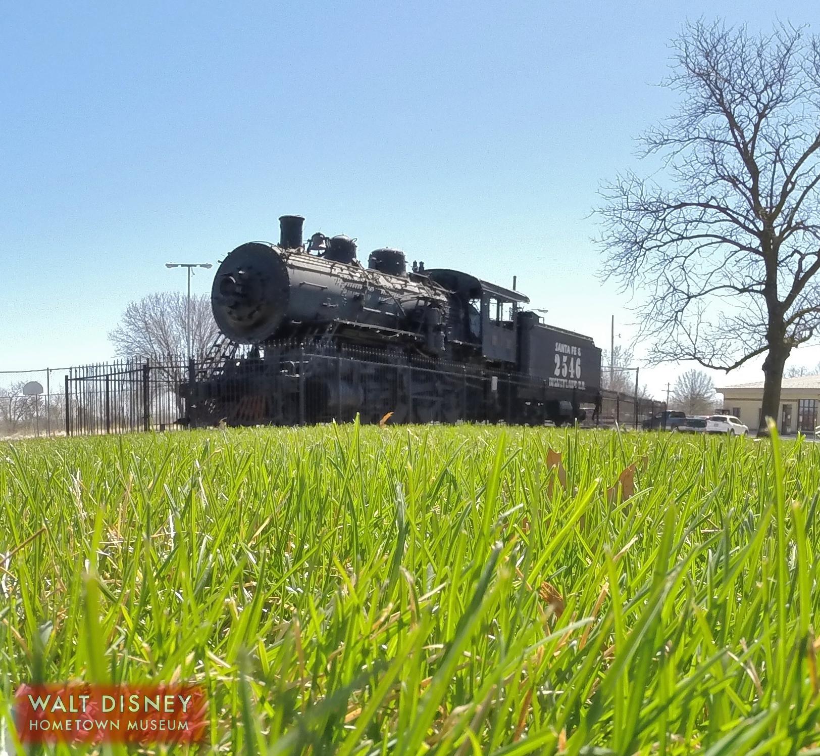 Santa Fe & Disneyland Railroad #2546