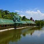 The Botanical Garden of Thai Literature in Muang Boran (Ancient Siam) in Samut Prakan, Thailand thumbnail
