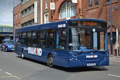 Rotala Group Blue Diamond 30488 KV03ZGK (Will Swain) Tags: city uk travel blue england bus buses reading birmingham 1st britain centre transport group may surrey diamond harlow network midland midlands arriva digbeth 2015 970 566 rotala tgm 8754 kv03zgk 30488