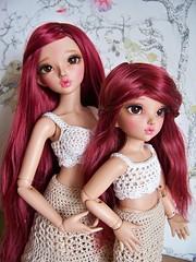 Chloe sisters <3 (DebiDooDoll2) Tags: tan chloe minifee littlefee nomyens