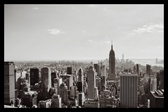 City view (robbo141) Tags: city ny newyork skyline skyscraper empirestate