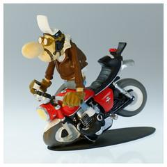 Joe Bar Team Honda CB750 (iveka19) Tags: joebarteam joebar figurine moto motorcycle ventsdouest figur motard motorradfahrer biker bd comicbook honda cb750