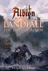 Book Cover Art - Albion Online (JamesGoblin) Tags: mac linux windows clicktomove multiplatform crossplatform android artwork drawing illustration albiononline multiplayer art poster rpg computer videogames onlinegames games cyberculture computers fun entertainment fantasy medieval sandbox pc gaming game pvp mmorpg mmo online albion view conceptart river wood rivers woods forest forests cloud clouds birds bird tower towers landscape landscapes wallpaper wallpapers posters