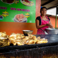 Our first Salvadoran food experience was most excellent.