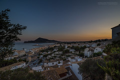 The L'Alfas del Pi sunset II (Normann Photography) Tags: altea costablanca elmarmediterrneo espaa holiday spain themediterraneansea thewhitecoast vacation benidorm sunset blue hour bluehour goldenhour albir sea shore beach orange