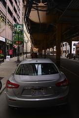 From A Dark Place I (Ctuna8162) Tags: chicago street car maserati quattroporte