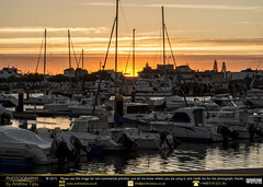 Port Sunset (andrewtijou) Tags: andrewtijou nikond7200 europe spain puntadelmoral costadelaluz port sunset harbour water boats es