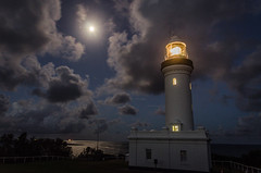 Norah Head at Night-1 (Tim Shilling) Tags: nsw night austalia beach coast lighthouse norahhead