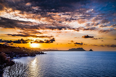 (Vincenz@ Russ@) Tags: sicilia palermo sizilien sicily landscape sunset sea cloud