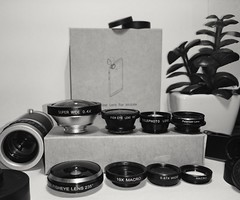 My babies!  (Denis Kuschter) Tags: photography photographer lens lenses wideangle polarizer telephoto zoomlens fisheye urban cool gadget tabletop blackandwhite sharp