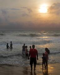 Family (IMG_5340b) (Dennis Candy) Tags: srilanka ceylon serendip serendib serendipity beach coast beauty people happy family peace sunset light sea