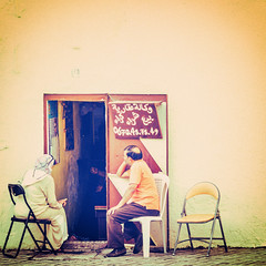 Doing-business-in-Fes (keithob1 Over 1 Million views - Thank you) Tags: fes fez morroco business people group door doorway
