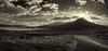 Breaking Through (Kyoshi Masamune) Tags: beinnnacaillich scotland kyoshimasamune isleofskye westscotland skye innerhebrides highlands wideangle sigma1750mmf28 panorama skyrim skyline clouds cloudscape blackwhite bw scottishmountains broadford monochrome broadfordriver beinndeargbheag strathsuardal strath uk