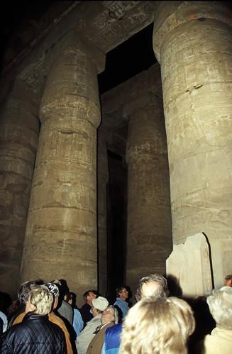 "Ägypten 1999 (306) Karnak-Tempel: Hypostyl • <a style=""font-size:0.8em;"" href=""http://www.flickr.com/photos/69570948@N04/28728406361/"" target=""_blank"">View on Flickr</a>"