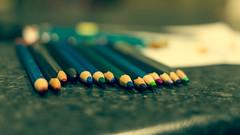 213-365 Pencils (cohenvandervelde) Tags: 365project australia cohenvandervelde cowes creativecommons explore flickr flickriver melbourne scout canon color colour lights shadow