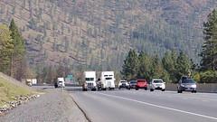 Truck climbing lanes on I-5 (OregonDOT) Tags: jta jobsandtransportationact oregondot oregon odot interstate5 truckclimbinglanes trucks motorcarrier