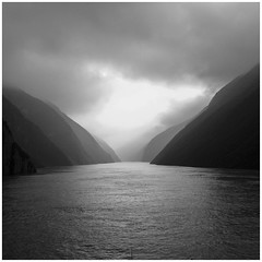 B&W Asian Collection 9 (DepictingPhotos) Tags: china misty rivers