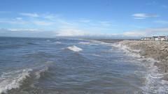 High tide at Earnse Bay (billnbenj) Tags: barrow cumbria walneyisland earnsebay hightide 95metretide waves surf spray video