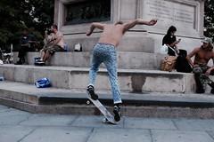 NY Sk8 (Alessio | Photography) Tags: skateboard skaters ny nyc newyork america usa fujifilm fujinon action people color attimo moment amazing