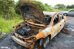 Burned car Hamilton 2016 (seifracing) Tags: burned car hamilton 2016 day seifracing spotting scotland services strathclyde scottish security emergency ecosse europe rescue recovery research transport traffic trucks police polizei vehicles voiture brigade britain british