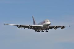 QR0011 DOH-LHR (A380spotter) Tags: approach landing arrival finals shortfinals airbus a380 800 msn0189 a7apf qatar  qatarairways qtr qr qr0011 dohlhr runway09l 09l london heathrow egll lhr