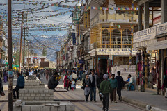 Main Bazar, Leh, Capitol of Ladakh (Alan Hilditch) Tags: absnladakh leh little  tibet indusrive himalayashimalayamountainmountains river bazaar kashmir indiajammu main  ladakh xzng sindh valley absnladakh lehladakh jammukashmir india in
