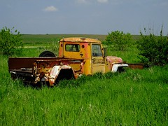 Willys with Blade (stillphototheater) Tags: iowa stillphototheater willys