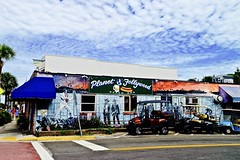 Planet Follywood - Explore #196 9-23-2016 - Folly Beach South Carolina (Meridith112) Tags: southcarolina sc south carolinas lowcountry charlestoncounty charleston follybeach island restaurant bar beachbar mural summer august 2016 nikon nikon2485 nikond610 jameschristopherhill centerstreet golfcart follywood planetfollywood wateringhole explore explored explore9232016