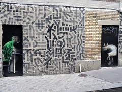 urban art Philippe Hrard (Jeanne Menj) Tags: ruecarriremainguet paris11 urbanart philippehrard streetart