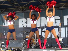 IMG_4985 (grooverman) Tags: houston texans cheerleaders nfl football game budweiser plaza nrg stadium texas 2016 nice sexy legs stomach boots canon powershot sx530