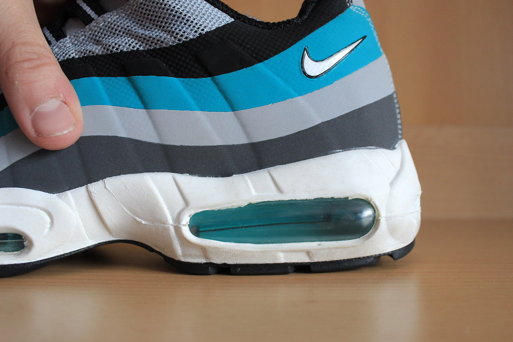 1aabdec6c1c2 wholesale nike air max 95 hyperfuse grey black tribal green white 2013  616190 61a90 5a30c