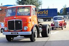 AEC Mercury Tractor YDD46 Frank Hilton IMG_9259 (Frank Hilton.) Tags: erf foden atkinson ford albion leyland bedford classic truck lorry bus car truckphotoslorryphotoswagonphotosbusphotosclassictruckclassiclorryclassicbus