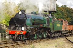 777 'Sir Lamiel', Loughborough, 9th October 2016 (OG47) Tags: 777 sirlamiel sr uksteam locomotive freighttrain steamengine steam gcr greatcentralrailway train kingarthurclass 460
