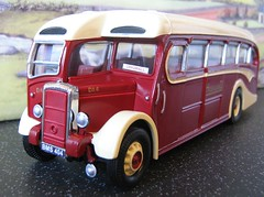 BMS 404 Highland Daimler CVD6 Burlingham Model (oldbagpuss2) Tags: bus model dingwall highlandomnibuses daimlercvd6burlingham