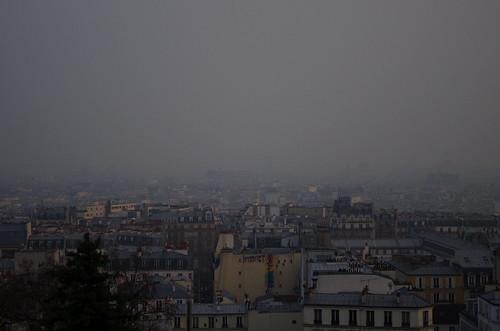 Paris sous la Crasse パリの大気汚染