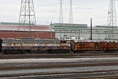 CTVX 4258 & 1367 (gman.light) Tags: ohio cleveland clevelandohio locomotive e9 e8 steelmill emd arcelormittal emde8 ctvx clevelandterminalandvalleyrailwayincorporated ctvx4258 ctvx1367