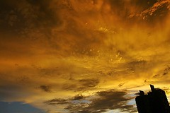(ragolf  ) Tags: city nature clouds canon buildings sunsets malaysia kuala lumpur