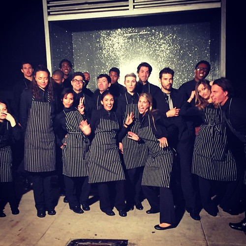 Part of team one getting silly last night! We had a blast working the Georgetown event at Paramount Studios! 700 people served 3 courses in a flash with @thefoodmatters! #staffing #events #eventlife #catering #servers ##paramountstudios #georgetown #TheFo