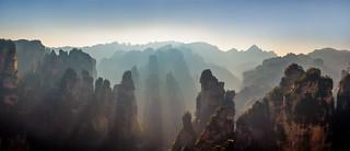 Zhāngjiājiè - Sunrise Panorama