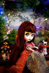 Apple in the faerie garden