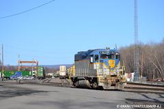 DH 7303 EMD GP38-2 (Trucks, Buses, & Trains by granitefan713) Tags: railroad train dh locomotive canadianpacific cp freighttrain emd gp38 delawarehudson emdgp382 sunburysub cpsunburysub
