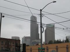 Columbia Center and Seattle Municipal Tower from 8th & King (SounderBruce) Tags: seattlemunicipaltower columbiacenter