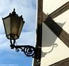 Außenleuchte an Fachwerkhaus im Harz / Deutschland // Outdoor lamp at half-timbered house in the Harz / Germany (photomotivjäger) Tags: lamp leuchte quedlinburg outdoorlight ausenleuchte lampelight