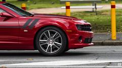 Muscle Bound (BAN - photography) Tags: wheels camaro mag musclecar camaross redsportscar