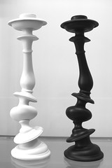 Black AND White (Read2me) Tags: museum fogg art thechallengefactory two vertical curved odd candlesticks pregamesweep duele gamewinner friendlychallenges x2 challengeclubwinner flickrchallengewinner superherowinner challengegamewinner challengeyouwinner cyunanimous yourockunanimous storybookchallengewinnerotr agcgwinner